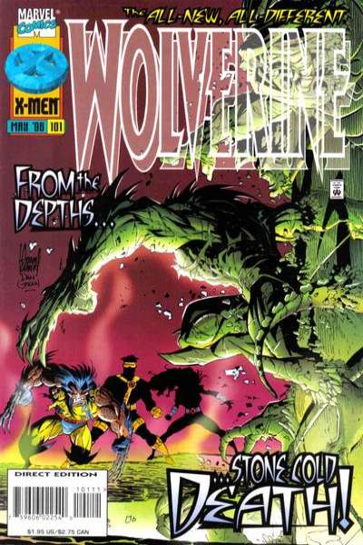 Wolverine #101 comic books - cover scans photos Wolverine #101 comic books - covers, picture gallery