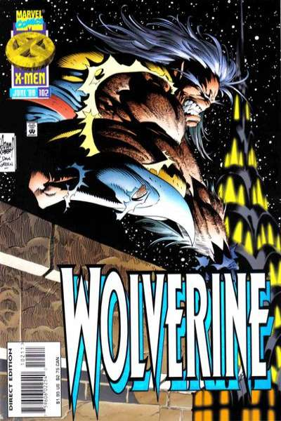 Wolverine #102 comic books - cover scans photos Wolverine #102 comic books - covers, picture gallery