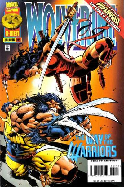 Wolverine #103 comic books - cover scans photos Wolverine #103 comic books - covers, picture gallery