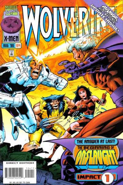 Wolverine #104 comic books - cover scans photos Wolverine #104 comic books - covers, picture gallery