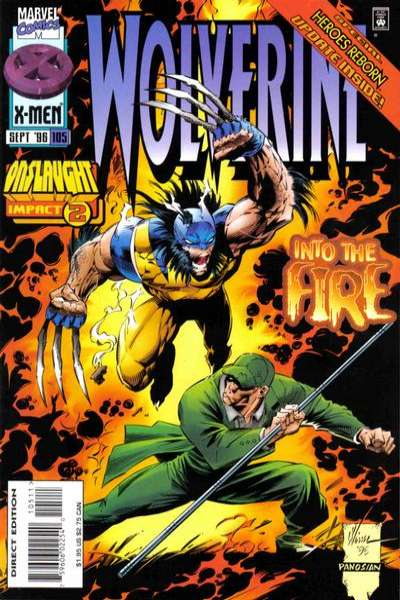 Wolverine #105 comic books - cover scans photos Wolverine #105 comic books - covers, picture gallery