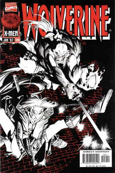 Wolverine #109 comic books - cover scans photos Wolverine #109 comic books - covers, picture gallery