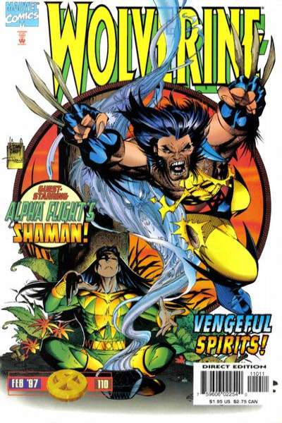 Wolverine #110 comic books - cover scans photos Wolverine #110 comic books - covers, picture gallery