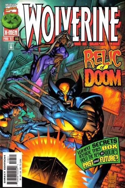 Wolverine #113 comic books - cover scans photos Wolverine #113 comic books - covers, picture gallery