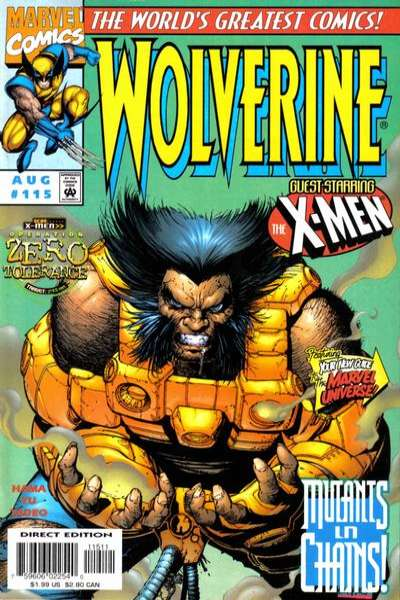 Wolverine #115 comic books - cover scans photos Wolverine #115 comic books - covers, picture gallery