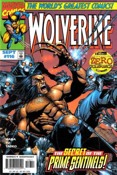 Wolverine #116 comic books - cover scans photos Wolverine #116 comic books - covers, picture gallery