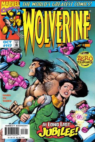 Wolverine #117 comic books for sale