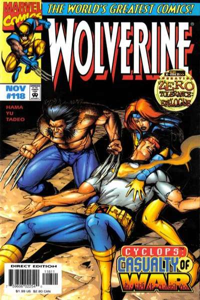 Wolverine #118 comic books - cover scans photos Wolverine #118 comic books - covers, picture gallery