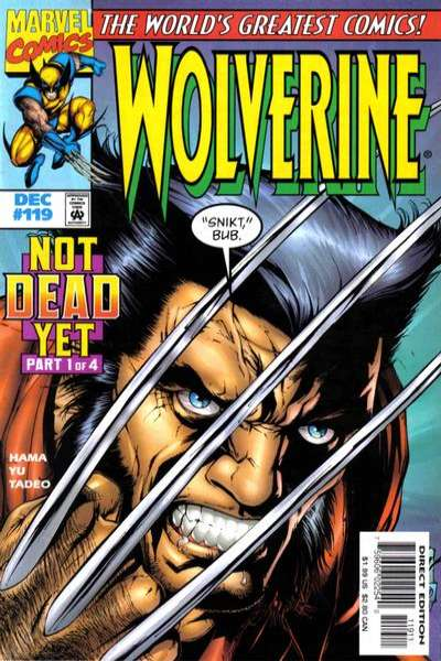 Wolverine #119 comic books - cover scans photos Wolverine #119 comic books - covers, picture gallery
