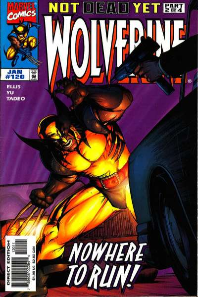 Wolverine #120 comic books - cover scans photos Wolverine #120 comic books - covers, picture gallery