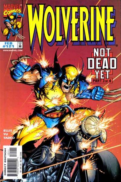 Wolverine #121 comic books - cover scans photos Wolverine #121 comic books - covers, picture gallery