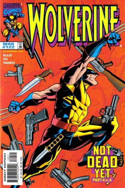 Wolverine #122 comic books - cover scans photos Wolverine #122 comic books - covers, picture gallery