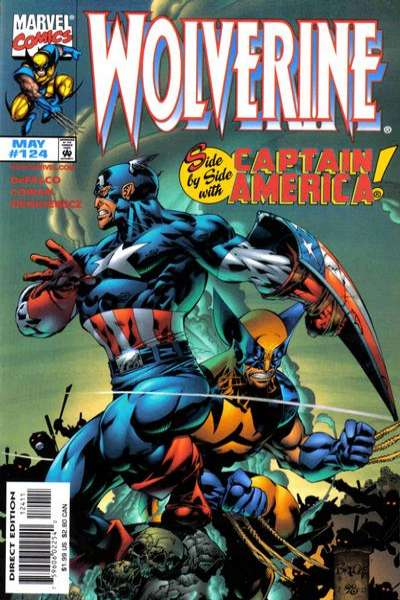 Wolverine #124 comic books - cover scans photos Wolverine #124 comic books - covers, picture gallery