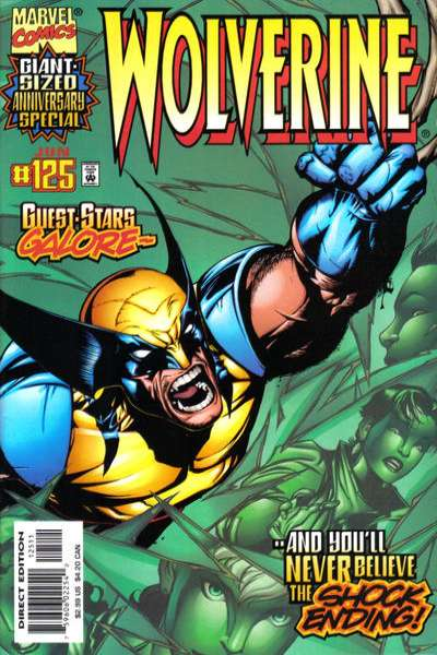 Wolverine #125 comic books - cover scans photos Wolverine #125 comic books - covers, picture gallery