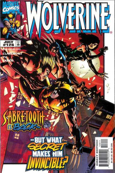 Wolverine #126 comic books for sale