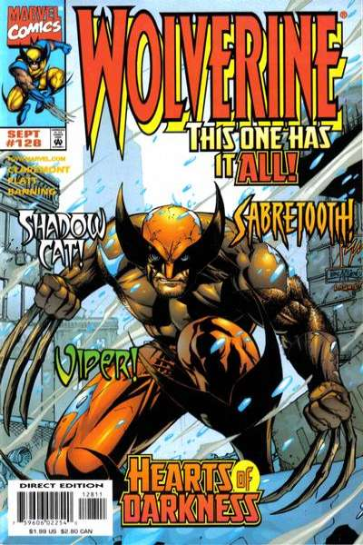 Wolverine #128 comic books - cover scans photos Wolverine #128 comic books - covers, picture gallery
