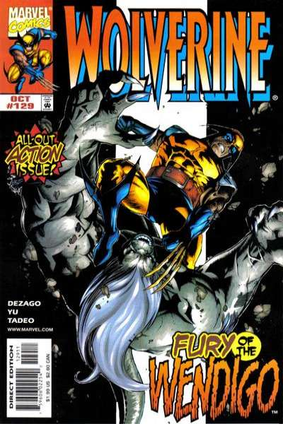Wolverine #129 comic books - cover scans photos Wolverine #129 comic books - covers, picture gallery