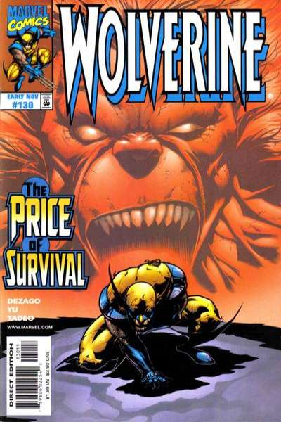 Wolverine #130 comic books - cover scans photos Wolverine #130 comic books - covers, picture gallery