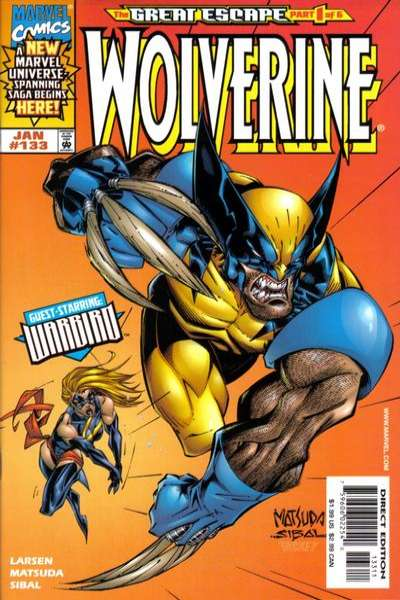 Wolverine #133 comic books - cover scans photos Wolverine #133 comic books - covers, picture gallery