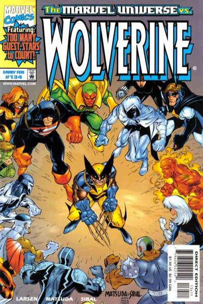 Wolverine #134 comic books - cover scans photos Wolverine #134 comic books - covers, picture gallery