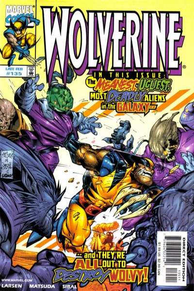 Wolverine #135 comic books - cover scans photos Wolverine #135 comic books - covers, picture gallery