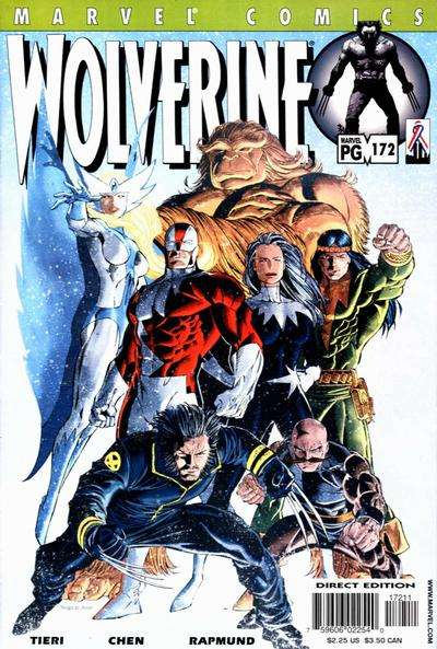 Wolverine #172 comic books - cover scans photos Wolverine #172 comic books - covers, picture gallery