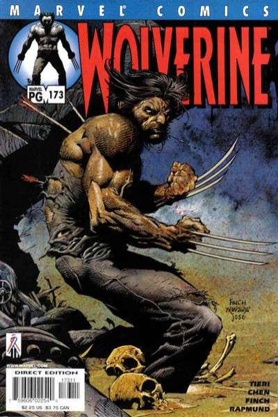 Wolverine #173 comic books - cover scans photos Wolverine #173 comic books - covers, picture gallery