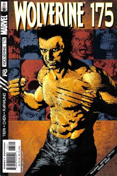 Wolverine #175 comic books - cover scans photos Wolverine #175 comic books - covers, picture gallery