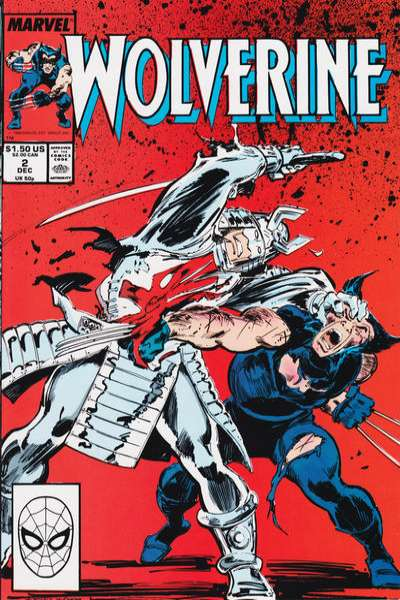 Wolverine #2 comic books - cover scans photos Wolverine #2 comic books - covers, picture gallery