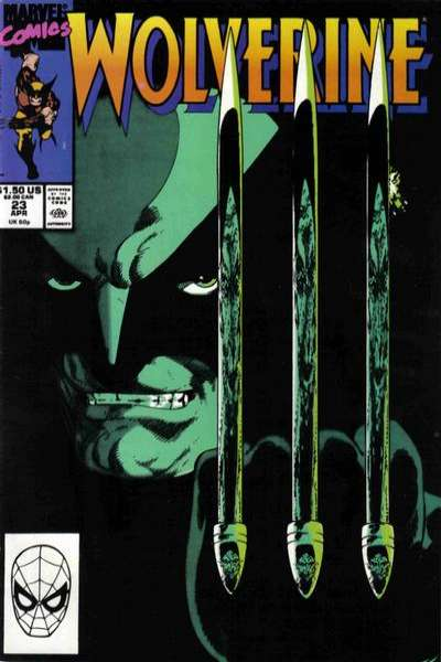 Wolverine #23 comic books - cover scans photos Wolverine #23 comic books - covers, picture gallery