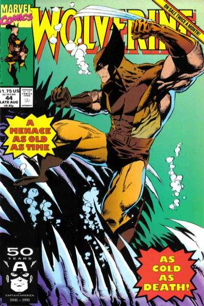 Wolverine #44 comic books - cover scans photos Wolverine #44 comic books - covers, picture gallery