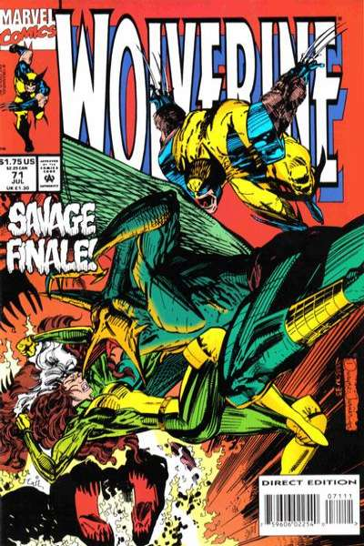 Wolverine #71 Comic Books - Covers, Scans, Photos  in Wolverine Comic Books - Covers, Scans, Gallery