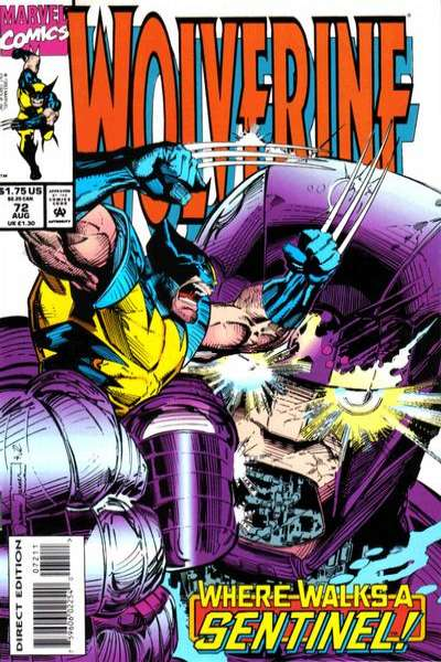 Wolverine #72 Comic Books - Covers, Scans, Photos  in Wolverine Comic Books - Covers, Scans, Gallery