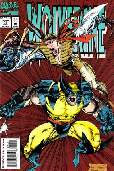 Wolverine #76 comic books - cover scans photos Wolverine #76 comic books - covers, picture gallery