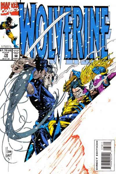 Wolverine #78 Comic Books - Covers, Scans, Photos  in Wolverine Comic Books - Covers, Scans, Gallery