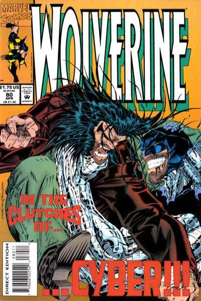 Wolverine #80 comic books - cover scans photos Wolverine #80 comic books - covers, picture gallery