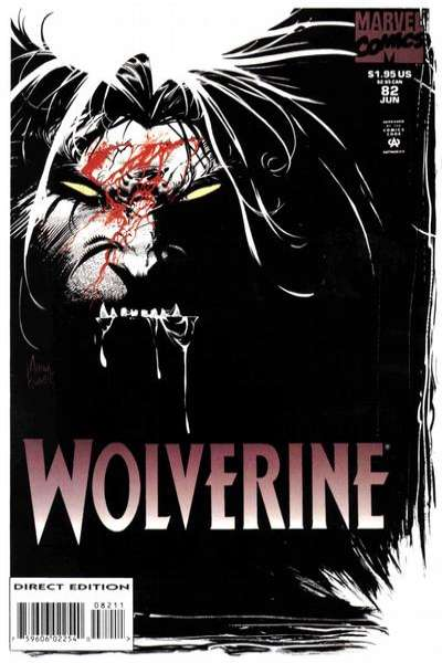 Wolverine #82 comic books - cover scans photos Wolverine #82 comic books - covers, picture gallery