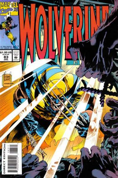 Wolverine #83 comic books - cover scans photos Wolverine #83 comic books - covers, picture gallery