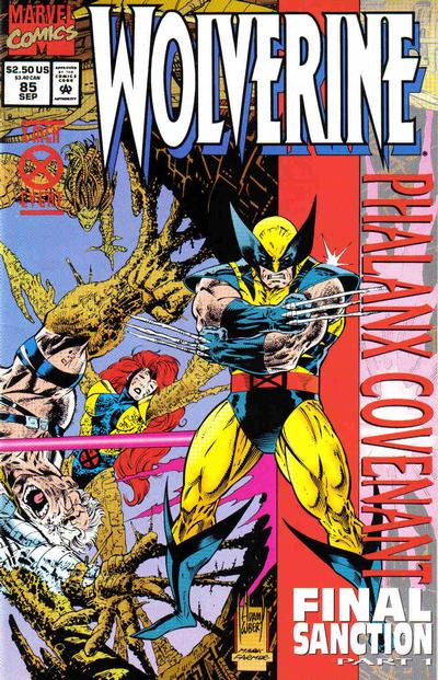 Wolverine #85 comic books - cover scans photos Wolverine #85 comic books - covers, picture gallery