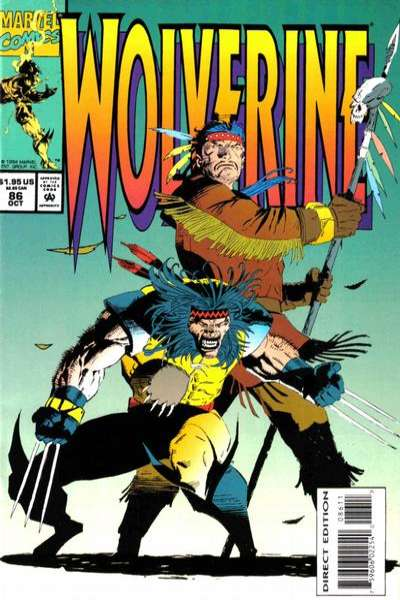 Wolverine #86 comic books - cover scans photos Wolverine #86 comic books - covers, picture gallery