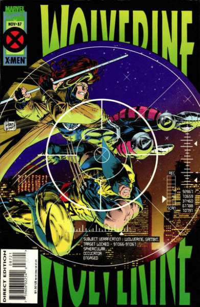 Wolverine #87 cheap bargain discounted comic books Wolverine #87 comic books