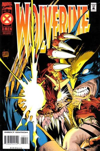 Wolverine #89 comic books - cover scans photos Wolverine #89 comic books - covers, picture gallery