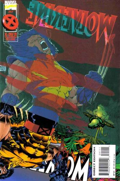 Wolverine #91 comic books for sale