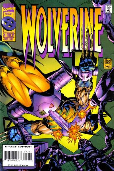 Wolverine #92 comic books - cover scans photos Wolverine #92 comic books - covers, picture gallery