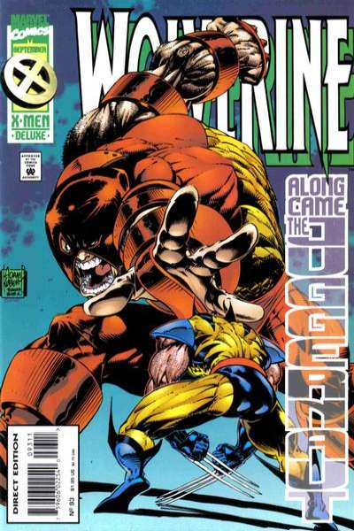 Wolverine #93 comic books - cover scans photos Wolverine #93 comic books - covers, picture gallery