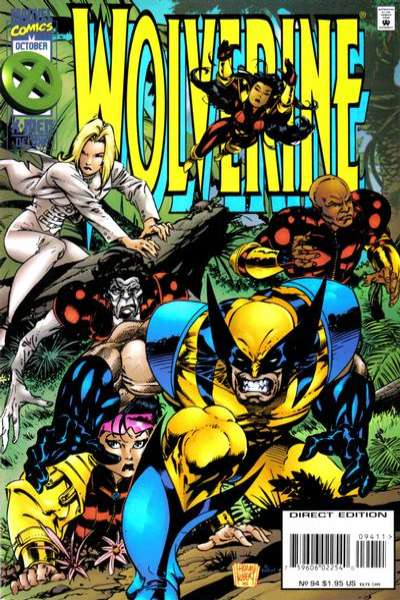 Wolverine #94 comic books - cover scans photos Wolverine #94 comic books - covers, picture gallery