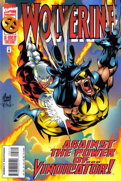 Wolverine #95 comic books - cover scans photos Wolverine #95 comic books - covers, picture gallery