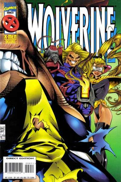 Wolverine #99 Comic Books - Covers, Scans, Photos  in Wolverine Comic Books - Covers, Scans, Gallery