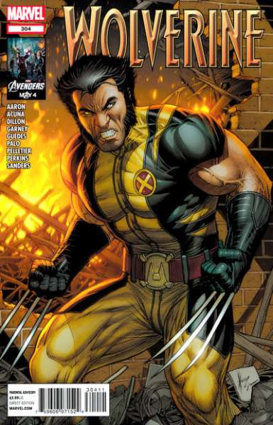 Wolverine #304 comic books - cover scans photos Wolverine #304 comic books - covers, picture gallery