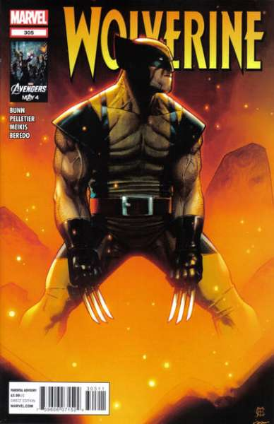 Wolverine #305 comic books - cover scans photos Wolverine #305 comic books - covers, picture gallery